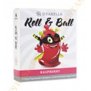 Насадка стимулирующая Roll & Ball Малина