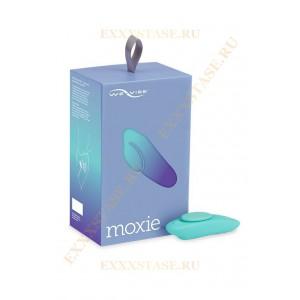 Вибромассажер для стимуляции клитора в трусики Moxie